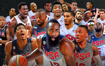 """Không lặp lại sai lầm trên đất Trung Quốc, đội tuyển bóng rổ Mỹ """"quyết tâm báo thù"""" tại Olympic 2020"""