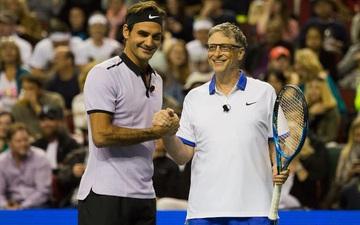 """Federer chuẩn bị """"song kiếm hợp bích"""" với tỷ phú Bill Gates để đối đầu Nadal"""