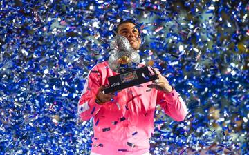 Nadal hoàn tất cú hat-trick vô địch Mexican Open, nới rộng kỷ lục so với Federer và Djokovic