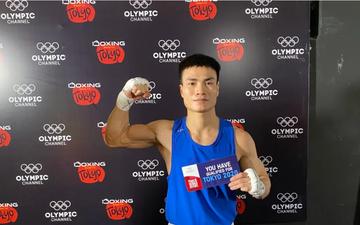 """""""Phục thù"""" thành công trước đối thủ Thái Lan, Nguyễn Văn Đương giúp boxing Việt có vé dự Olympic sau 32 năm chờ đợi"""