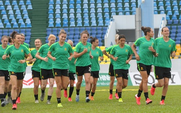 Cận cảnh điều kiện tập luyện của đối thủ hơn hẳn tuyển nữ Việt Nam trước thềm trận play-off tranh vé dự Olympic Tokyo 2020