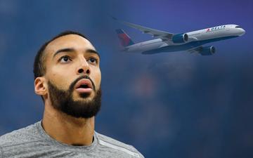 NGHI VẤN: Chiếc máy bay chở Rudy Gobert cùng Utah Jazz từng được sử dụng bởi một đội bóng khác tại NBA?