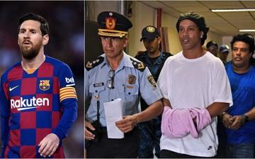 Báo Tây Ban Nha phủ nhận Messi chi cả trăm tỷ đồng cứu Ronaldinho thoát cảnh tù tội