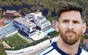 Lo ngại dịch Covid-19, Messi cùng gia đình tự cách ly trong biệt thự 200 tỷ, có sân bóng ở ngay trong nhà