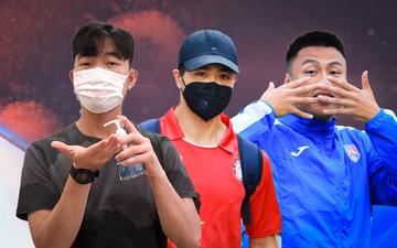 Dàn tuyển thủ Việt Nam kêu gọi cộng đồng chung tay chống dịch Covid-19.