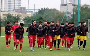 Vòng loại 3 Olympic Tokyo 2020: HLV Mai Đức Chung chốt danh sách đội tuyển nữ Việt Nam đá trận play-off