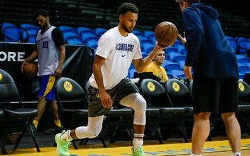 Sau buổi tập luyện ở G-League, Stephen Curry hẹn ngày tái xuất cùng Golden State Warriors