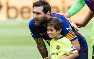 Quý tử nhà Messi lập cú đúp, đội trẻ Barca hủy diệt đối thủ với tỉ số cực đậm