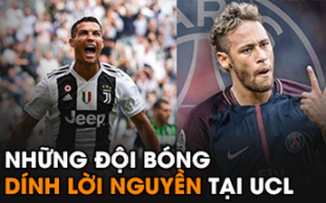 """5 đội bóng nổi tiếng dính """"lời nguyền"""" tại Champions League"""