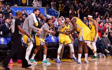 """Dàn sao triệu đô của Philadelphia 76ers gục ngã trước sức mạnh của những """"chú lính chì"""" Golden State Warriors"""