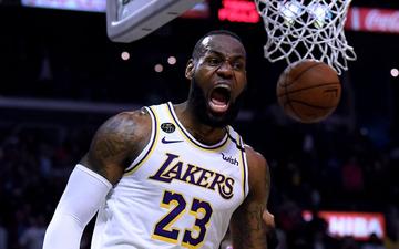"""Thắng thuyết phục Los Angeles Clippers, LeBron James cùng Los Angeles Lakers chứng tỏ đẳng cấp """"Nhà Vua"""" đích thực tại NBA"""