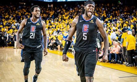 """Thắng kịch tính trước Warriors, Clippers có màn lội ngược dòng """"đỉnh cao nhất"""" lịch sử Playoffs NBA"""