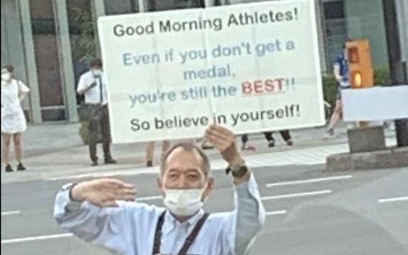 Cộng đồng quốc tế cảm kích trước thông điệp tuyệt vời của ông lão Nhật Bản tại Olympic Tokyo 2020