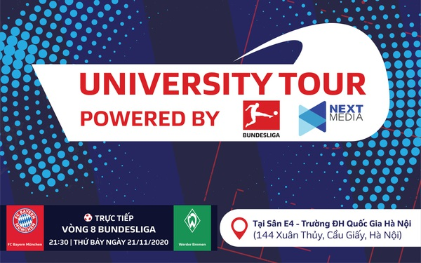Đại học Kinh tế - ĐHQG Hà Nội: Điểm dừng chân đầu tiên của sự kiện Bundesliga University Tour