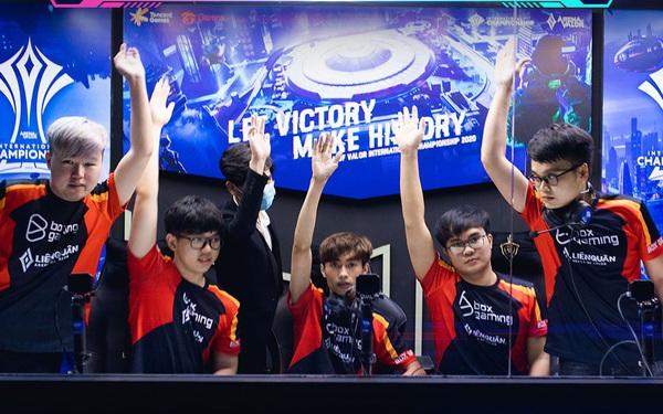 Không làm xấu mặt Liên Quân Mobile Việt Nam, BOX Gaming chính thức giành vé vào playoffs AIC 2020