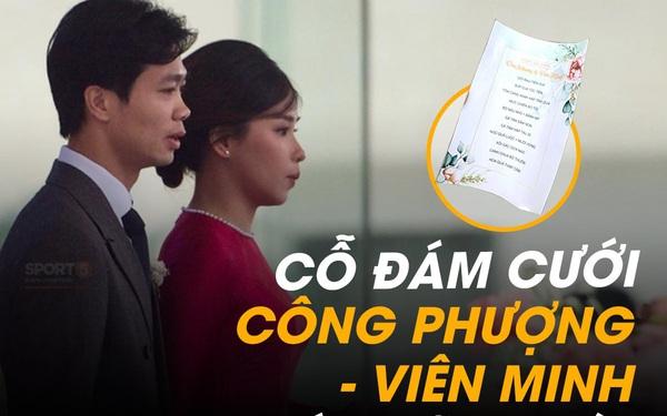 Cỗ đám cưới Công Phượng – Viên Minh hôm nay ở Nghệ An có những gì?