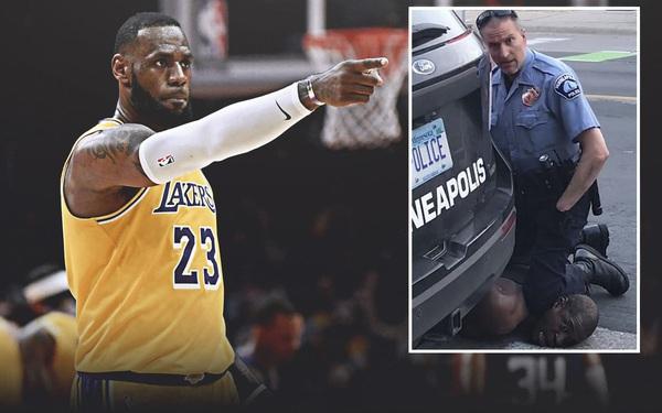 LeBron James và dàn sao showbiz đồng loạt lên tiếng: Thể hiện sự phẫn nộ trước vụ việc người da màu chết vì bị cảnh sát đè cổ tại Mỹ