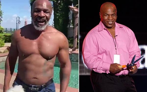 Khát khao trở lại, huyền thoại Mike Tyson giảm liền một mạch 31 kg để sở hữu thân hình lý tưởng