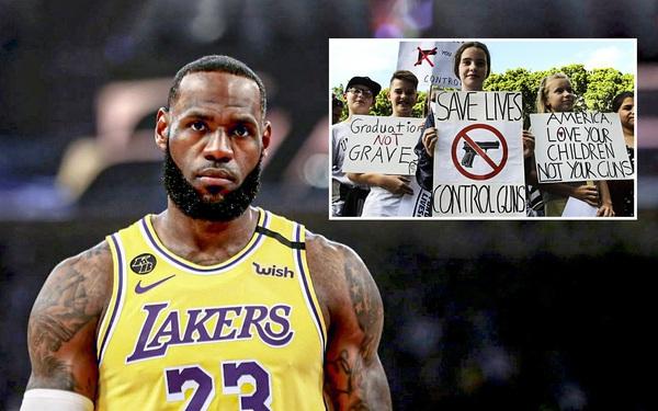 LeBron James đau đớn lên tiếng trước loạt vụ nổ súng cướp đi mạng sống của 6 em nhỏ