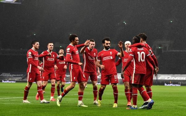 Chấm dứt chuỗi trận thất vọng, Liverpool thắng tưng bừng Tottenham