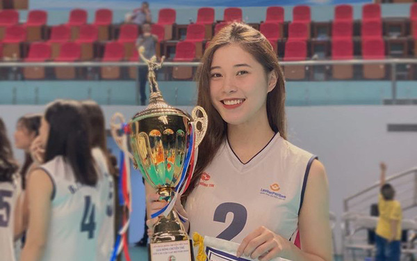 Thực hư thông tin Hoa khôi bóng chuyền 19 tuổi Đặng Thu Huyền giải nghệ