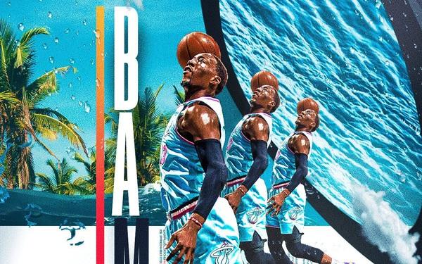Bam Adebayo đứng lên lèo lái con thuyền Miami Heat trong sóng gió