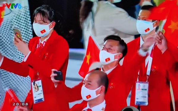 Tự hào hình ảnh Đoàn thể thao Việt Nam xuất hiện ở lễ khai mạc Olympic Tokyo 2020