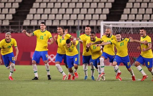 """Hạ gục Mexico ở loạt """"đấu súng"""" cân não, Brazil vào chung kết Olympic 2020"""