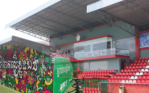 Bất ngờ với sân vận động siêu đẹp tại Campuchia nhưng không được chọn để tổ chức giải U22 Đông Nam Á